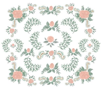 Flowers - Pattern by Louise-Rosa