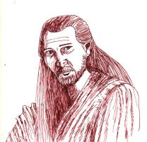 Qui-Gon Jinn 2 by SkyWookiee