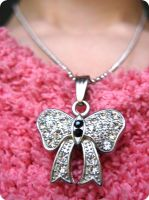 jewelery bow from Danya by ItSurroundsMe