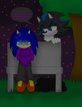Blinded by loneliness by X-SonicTheHedgehog-X