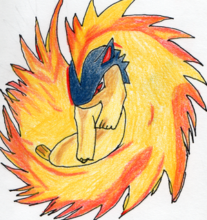 Land Man Sam (The Pirate Man) Updates Mondays and Fridays Typhlosion_by_The_Hell_Raider
