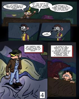 Keeping Up with Thursday Issue 1, page 4 by BestHeelofAllTime