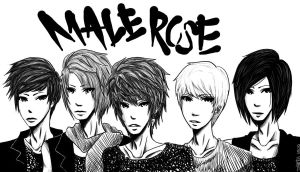 MaleRose by Smatch