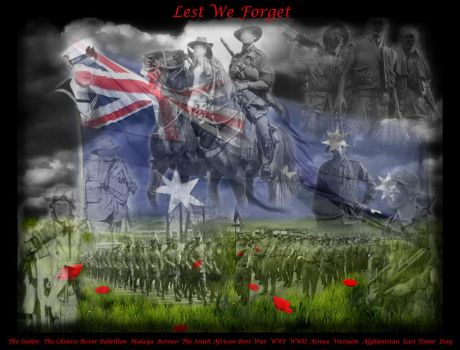 Lest We Forget by hedgehogpie