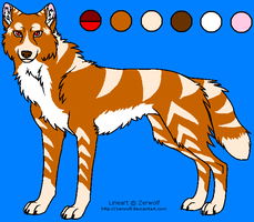Lexi Wolf Template by WerewolfDragonGirl