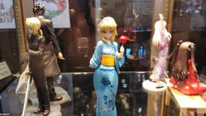 NYCC 2013: Fate Night Stay figures by Kitedot