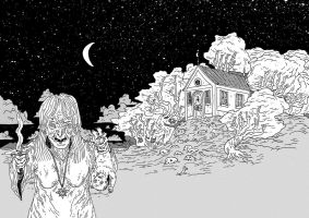 Witch house by burnay