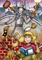 Inspector Gadget by Yvyne
