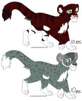 Adopts 1 LEFT by DracKeagan