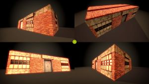 Modular building test by Nobiax