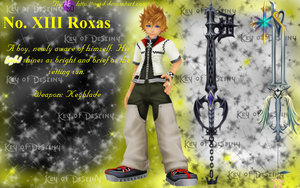 Kingdom Hearts: Roxas Event Horizon by AESD