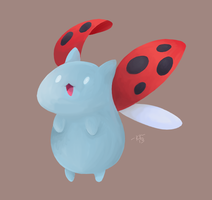 Catbug by Phoelion