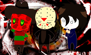 Horror Chibis 2 by Horror-Forever13