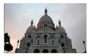 Sacre Coeur by unclejuice