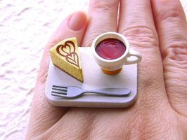 Cheesecake And Tea Ring by souzoucreations