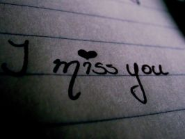 I miss you by Icekisses23
