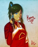 Korra Fireferret by sexyfairy