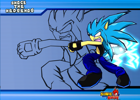 :COMM: Shock - Sonic Battle by Cerberean