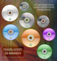 Translucent CD drives icons by proenca