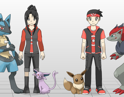 New Trainer Designs: Ray and Kelsey by rayd12smitty