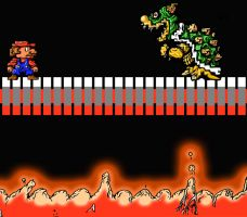 Super Mario Brothers- Showdown by NathanielBart