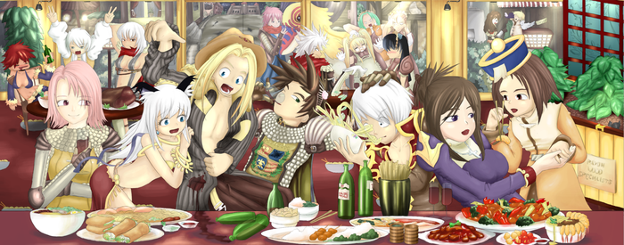 Ragnarok Online - Eating Out by Sizzleboom