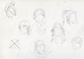 Female Hair styles by Experiment07