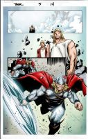 Thor issue 5 page 13 by jeaf7
