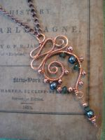 Tourmaline, Pearl and Copper by ElegantlyEccentric