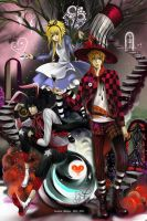 Death Note In Wonderland by pencil-slave7
