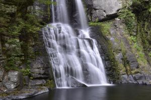 Bushkill Falls / Base. by Vision-Quest