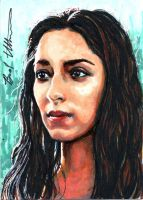 Talisa Maegyr sketch card by therealbradu