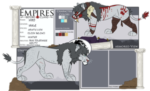 EBC: Hiro | Ref Sheet by SaintPumpkinMuffin