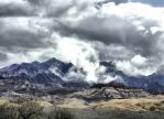 Death Valley Storm by MartinGollery
