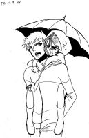 IchiRuki _ rain by cold-angle