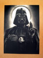 Darth Vader Sith Lord print by DoomCMYK