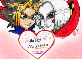 ::HappyValentine-ToMe and Sis 2012:: by norngirl