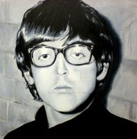 Paul with glasses by goshnessmaggy