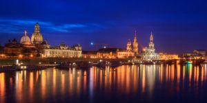 Dresden Skyline once again by Matthias-Haker