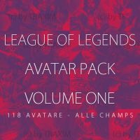 League of Legends Huge Avatar Pack by TraX1m