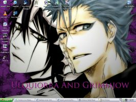 Ulquiorra And Grimmjow by EvilReaper