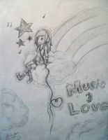 Music and Love by kei-chan96