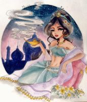 Arabian Nights by Peahedge