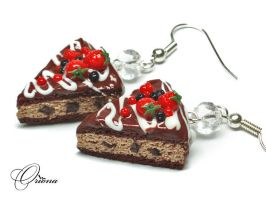 Berries in chocolate 7 by OrionaJewelry