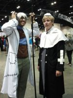 Megacon 2014: Dr.Stein and Justin Law cosplay by Oblivion-Evil