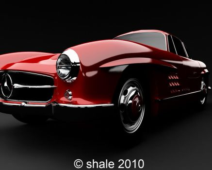 1954 Mercedes 300SL Gullwing 3 by shale1