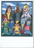 Say cheese... ACEO by superupaman