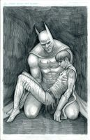 Batman Death in the Family by myconius