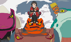 Sage Mode Rukia - Naruto Crossover by TheMuseumOfJeanette