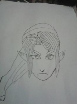 Legend Of Zelda Un-Coloured by Sportlingtubaz